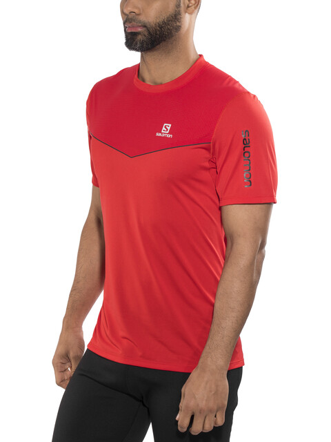 Salomon Fast Wing SS Shirt Men matador